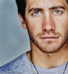 Jake - my goodness, those eyes. Don't remember noticing them much while watching Love and Other Drugs