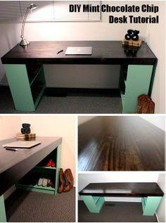 DIY desk tutorial