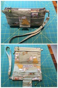 Emzed foldover clutch wallet – free pattern