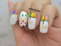 Nail Art rain | Recent Photos The Commons Getty Collection Galleries World Map App ...