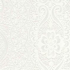 "wallpaper ""Dentelle Rome"" by Graham & Brown http://www.grahambrown.com/fr/index"