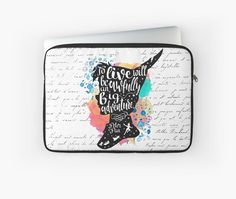 Peter Pan inspired quote • Also buy this artwork on laptop covers, apparel…