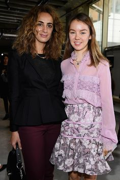 Royal Family Around the World: Princess Alexandra of Hannover Attends The Paris Fashion Week Womenswear Spring/Summer 2018 : Day Seven on October 2, 2017 in Paris, France.