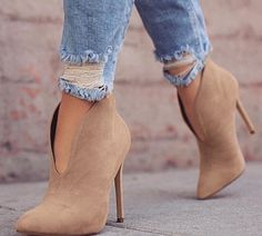 Shop Pointed Toe Stiletto Ankle Boots – Discover sexy women fashion at  Boutiquefeel