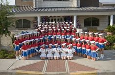 The most famous dance team in the world The Kilgore Rangerettes. My alma mater.