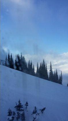 Gondola up the mountain