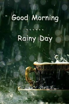 Good Morning Quotes : QUOTATION – Image : Quotes Of the day – Description Good Morning & Happy Friday! Another rainy day here in 🙂 Perfect sweater weather to enjoy a cup of coffee on the back porch! Rainy Morning Quotes, Good Morning Rainy Day, Good Morning Happy Friday, Good Morning World, Good Morning Picture, Good Morning Messages, Good Morning Greetings, Good Morning Good Night, Morning Pictures