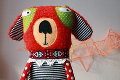 super ninon's softies have such personality - i love her work