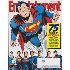 Entertainment Weekly   75 Years of Superman   Action Comics   Man of Steel   June 21, 2013 #1264