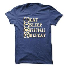eat_sleep_football _repeat, Order HERE ==> https://www.sunfrog.com/Fitness/eat_sleep_football-_repeat.html?id=41088 #christmasgifts #xmasgifts #footballlovers