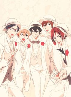 Free! Iwatobi swim club #anime #manga