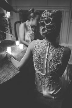 Charleston Wedding Fashion at Zero George via Easton Events, Maddison Row, Bellabridesmaid and Sara York Grimshaw - photographed by Virgil Bunao Long White Maxi Dress, Lace Dress, Dress Up, Fashion Mode, Dream Wedding, Wedding Hair, Fall Wedding, Wedding Stuff, Wedding Photos