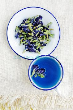 Bunga Telang (Blue Pea Vine or Butterfly Pea), A Natural Blue Food Dye