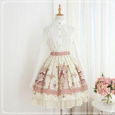 Jun Ling -Mesopotamia- Lolita Skirt