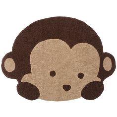 Monkey rug  Mod Pod Monkeys This is our nursery theme!