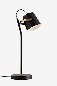 no ellos-home bordlampe-rhode 1021141 Interior Lighting, Lighting Design, Side Table Lamps, Table Lighting, Luxury Chandelier, Chandeliers, Restaurant Lighting, Living Room Goals, Task Lamps
