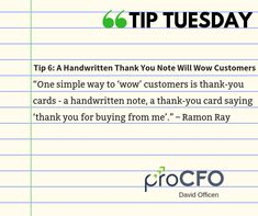 Always appreciate your customers. #TipTuesday from David Officen #TipoftheDay #proCFOPerth #DavidOfficen #virtualCFO #BusinessImprovementAdvice #TuesdayPost #business #businesstips #B2B