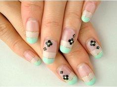 Pastel Color Nails Design