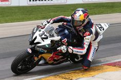 Jake Gagne came away from Road America with a GoPro Daytona SportBike Race 2 victory.