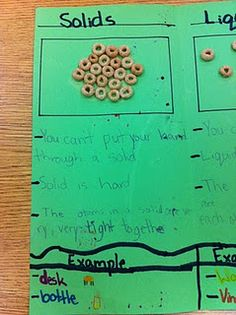states of matter with cheerios