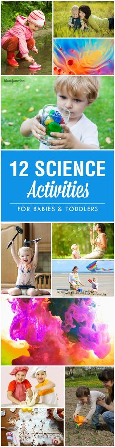 Top 12 Fascinating Science Activities For Your Babies & Toddlers