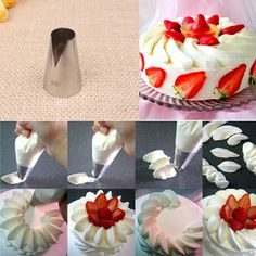 #580 Icing Piping Nozzles Decorating Mouth Seamless Pastry Tube Sugarcraft Cake Decorating Tools KH061-in Baking & Pastry Tools from Home & Garden on Aliexpress.com | Alibaba Group