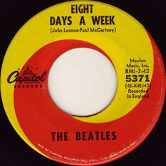 My first Beatles 45,