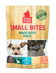 NEW Organic Chicken dog treats small bites sourced responsibly, made locally. #comingsoon #platopettreats