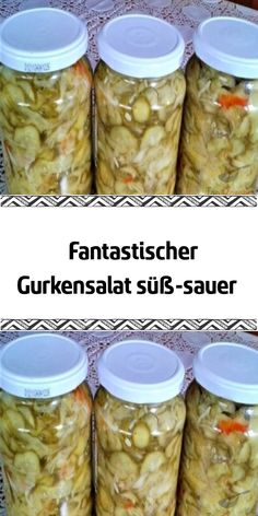 Fantastischer Gurkensalat süß-sauer This wonderful cucumber salad is perfect as an accompaniment to Salad Recipes For Dinner, Chicken Salad Recipes, Healthy Salad Recipes, Meat Recipes, Healthy Lunches, Pasta Recipes, Fresh Vegetables, Fruits And Veggies, Fruit Plus