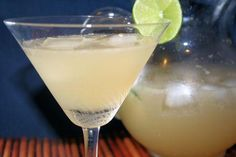 I think these are the same ones I had years ago and they were GOOD! Best Beer Margarita from Food.com:   I make these all year around for my parties they are the best Margarita,  don't worry you won't even taste the beer, you can double or triple this recipe if desired, if the mixture tastes too sweet you can add in a little more water, use the limeade can to measure out all ingredients