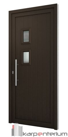 Puerta moderna AV100-2V Door Design Interior, Main Door Design, Wooden Door Design, Gate Design, Dream Home Design, House Design, Law Office Design, Classic Doors, Wooden Front Doors