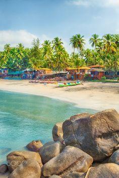 Palolem beach, Goa, India.