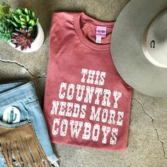 Western graphic tee rodeo T-shirt cowboy cowgirl western fashion concert shirt women Rodeo Shirts, Cowboys Shirt, Concert Shirts, Western Shirts, Cowgirl Shirts, Rodeo Outfits, Western Outfits, Cowgirl Outfits For Women, Cute Teen Outfits