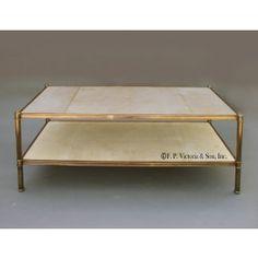 Bily Baldwin Cole Porter coffee table by Frederick P. Victoria & Son