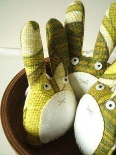 Мягкие игрушки из ткани / Вязание как искусство!