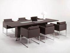 Офисный деревянный стол для переговоров - Must - http://mebelnews.com/ofisnyj-derevyannyj-stol-dlya-peregovorov-must