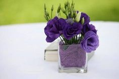 Image result for purple flowers used in floral arrangements