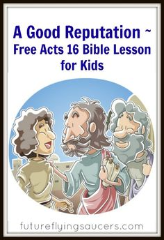 Acts 16: Paul begins his second missionary journey as four major events take place in his ministry. Another FREE Bible lesson from futureflyingsaucers.com