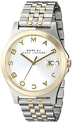 Marc by Marc Jacobs Women's MBM3319 The slim Analog Display Analog Quartz Two Tone Watch