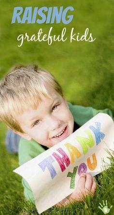 How to foster & instill a lifelong sense of gratitude in kids
