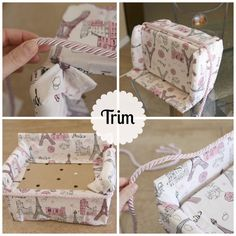 Make An American Girl Sofa {upcycling} -