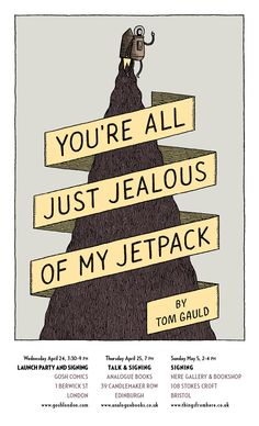 Drawn and Quarterly: Tom Gauld on tour in the UK!