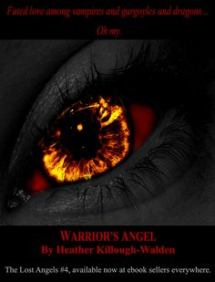 Warrior's Angel is the newly released book 4 in The Lost Angels series, by NYT and USA Today bestselling paranormal romance author, Heather Killough-Walden.
