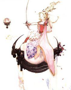 Digik Gallery - Artbook - Yoshitaka Amano - Final Fantasy Japan Artbook - Image ID 23233
