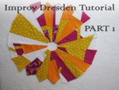 Make an improve Dresden plate any size!