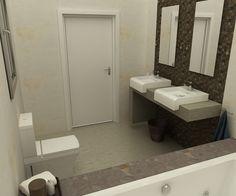 Baño diseñado por Fábrica de Arquitectura para una vivienda unifamiliar en Pilas (Sevilla). Los materiales y los aparatos sanitarios son de la marca Porcelanosa. Toilet, Bathroom, Gadgets, Sevilla, Architecture, Interiors, Bath Room, Litter Box, Bathrooms