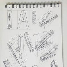 11 Clothes Peg Pencil Drawing Ideas - New Pencil Sketch Drawing, Basic Drawing, Pencil Art Drawings, Technical Drawing, Art Drawings Sketches, Drawing Ideas, Academic Drawing, Copic Drawings, Perspective Art