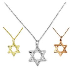 Dainty Reversible Sterling Silver Jewish Star Of by TheSilverPlaza