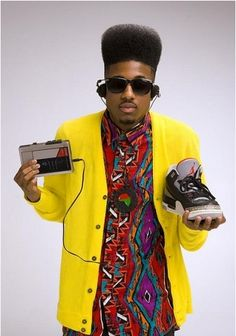 Mens Hip Hop fashion in the 90's