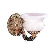 Crystorama Lighting Group 881-OB Olde Brass Natural Alabaster 1 Light Wall Sconce - LightingDirect.com